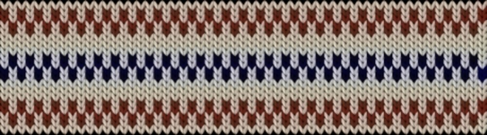 Knitting motif chart, Pippi