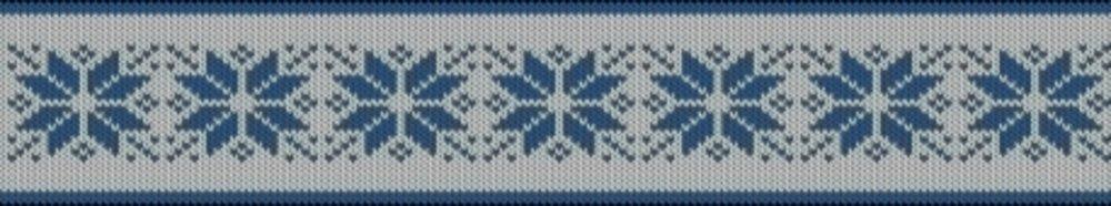 Knitting motif chart, Star motif
