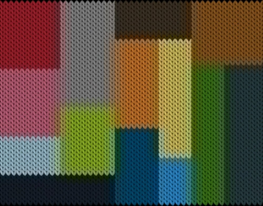 Knitting motif chart, Colorchart