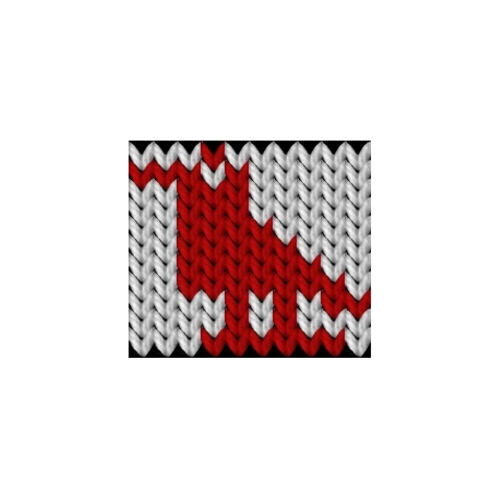 Knitting motif chart, Chicken