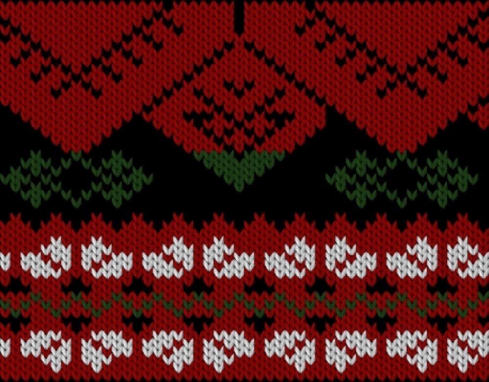Knitting motif chart, Järvsö motif (part)