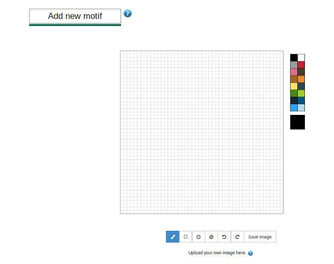 This is how the design tool looks